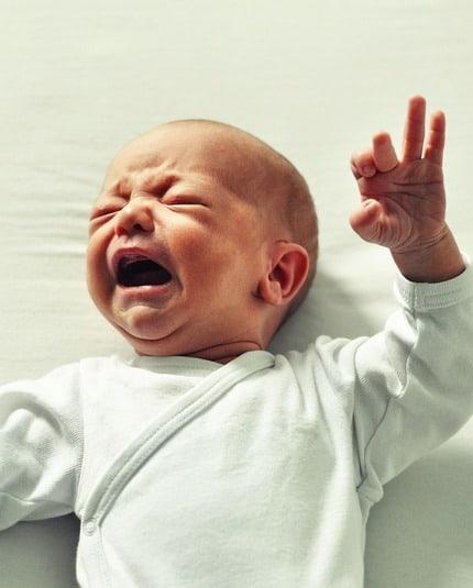 weinendes Baby